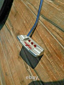 Titleist SCOTTY CAMERON SELECT'Square Back' 34 Putter with pistol grip NICE