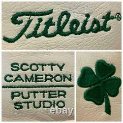 Titleist Scotty Cameron 2006 four leaf clover putter covers limited 500 pieces