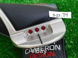 Titleist Scotty Cameron 2016 Select Newport 3 34 Putter w Headcover Excellent