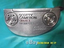 Titleist Scotty Cameron 2016 Select Newport 3 Putter 35