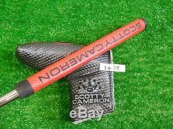 Titleist Scotty Cameron 2016 Select Newport M2 Mallet 35 Putter w Headcover New