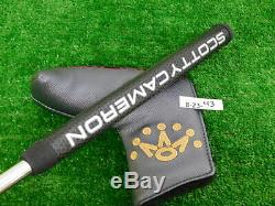 Titleist Scotty Cameron 2018 Select Newport 2.5 35 Putter with Headcover New