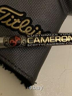 Titleist Scotty Cameron 2018 Select Newport 34in 9.9/10