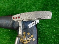 Titleist Scotty Cameron 2018 Select Newport 35 Putter with Headcover