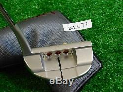 Titleist Scotty Cameron 2018 Select Newport 3 34 Putter w Headcover Excellent