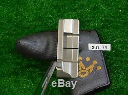 Titleist Scotty Cameron 2018 Select Squareback 1.5 35 Putter with Headcover