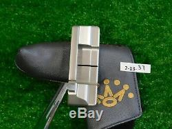 Titleist Scotty Cameron 2018 Select Squareback 1.5 35 Putter with Headcover New