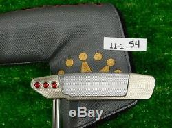Titleist Scotty Cameron 2018 Select Squareback 35 Putter with Headcover New