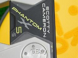Titleist Scotty Cameron 2019 Phantom X 5.5 35 Putter with Headcover New