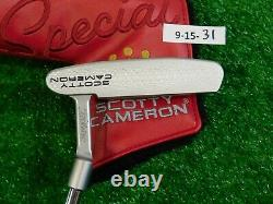 Titleist Scotty Cameron 2020 Special Select Newport 34 Putter w Headcover New