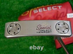 Titleist Scotty Cameron 2020 Special Select Newport 34 Putter with HC Excellent