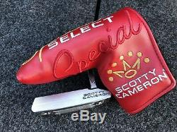 Titleist Scotty Cameron 2020 Special Select Squareback 2 33 Putter & Headcover