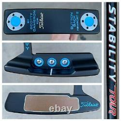 Titleist Scotty Cameron 35 Buttonback Newport 2 Putter with Stability Tour Shaft