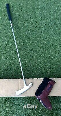 Titleist Scotty Cameron Bullseye Blade 35 Putter Steel Golf Club with Headcover