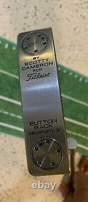 Titleist Scotty Cameron Button Back Newport 2 34 Putter Gamer Champions Choice