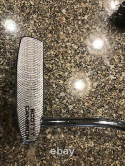 Titleist Scotty Cameron California Fastback 35 inch putter new grip/weight kit