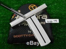 Titleist Scotty Cameron Circle T C-5 Xperimental 34 Putter w Futura Phantom HC