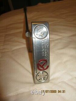 Titleist Scotty Cameron Circle T Newport Putter GSS Inert Mint 35 From PGA TOUR