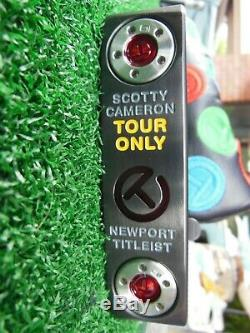 Titleist Scotty Cameron Circle T TOUR ONLY NEWPORT 35 Putter MINT