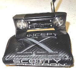 Titleist Scotty Cameron Concept X Cx-02 Ltd Edition 35 Putter Brand New Rare