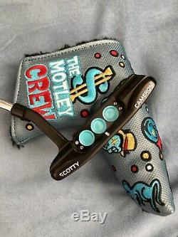 Titleist Scotty Cameron Custom Newport Putter 34 Limited Headcover Black $750