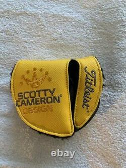 Titleist Scotty Cameron Custom Phantom X 7.5 34 Left Hand Putter with HC New