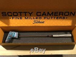Titleist Scotty Cameron Custom Shop Pro Platinum Del Mar 3.5 Black Finish