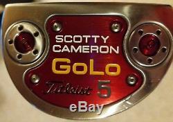 Titleist Scotty Cameron GOLO 5 Flow Neck 35