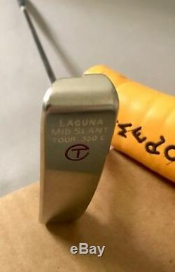 Titleist Scotty Cameron Laguna Mid Slant Tour 350g Circle T 34 Putter Golf Club