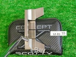 Titleist Scotty Cameron Limited Edition Concept X CX-02 34 Putter with HC New
