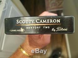 Titleist Scotty Cameron Longneck Teryllium Putter, RH, 33, Original Untouched Head