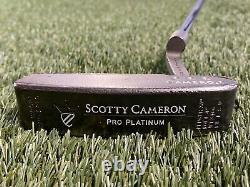 Titleist Scotty Cameron Pro Platinum Newport Mil-Spec Blade Putter 33 Mens RH