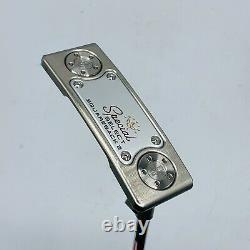 Titleist Scotty Cameron Special Select Squareback 2 Putter 33 RH MINT +HC