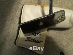 Titleist Scotty Cameron Studio Design No. 5 MB Putter Black Pearl MINT SHIPS FREE
