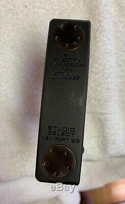 Titleist Scotty Cameron Studio Select Newport 2.5 Black Oxide