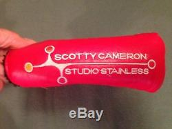 Titleist Scotty Cameron Studio Stainless Newport 2 35.5 303 Milled Putter RH