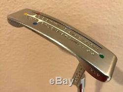 Titleist Scotty Cameron Studio Stainless Newport Beach 34 putter with Winn grip