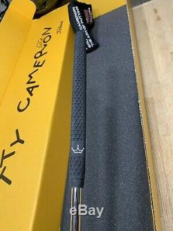 Titleist Scotty Cameron TeI3 Newport 2 RH 34 1/4 In Teryllium Custom Shop