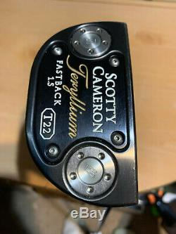 Titleist Scotty Cameron Teryllium T22 Fastback Putter 35 inch with cover