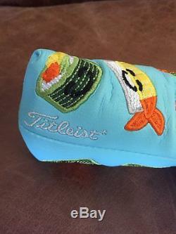 Titleist Scotty Cameron Tiffany Happy Sushi Headcover