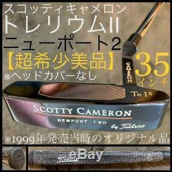 Titleist Scotty Cameron Trellium 2 Tel3 35 inches 1999 year used