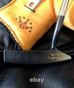 Titleist Studio design 1.5 Scotty Cameron golf putter Gun blue 35inch
