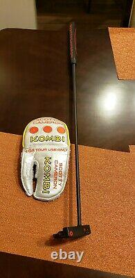 Tour Only Circle T Scotty Cameron Putter Titleist Prototype Welded Center Shaft