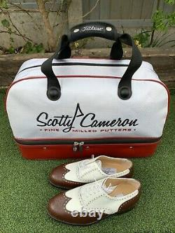 ULTRA RARE Titleist Scotty Cameron Kit/Shoe Bag Holdall New