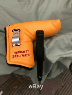 USED Scotty Cameron Brad Faxon Laguna 2.5 Oil Can Putter 35