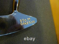 Wow Scott Cameron Hand Made Scm Snow Titleist Putter With Coa Scotty Beauty 1/1
